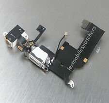 White iPhone 5 Usb Charging Data Dock Audio Jack Port Flex Cable Connector