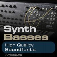 SYNTH BASS SOUNDFONT COLLECTION 300 SF2 SAMPLES HIP HOP TRAP RAP EDM MAC PC FL