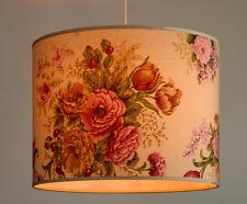 Lampenschirm Gross Xl Hängelampe Stehlampe Tischlampe Rustikal Bunte  Blumen