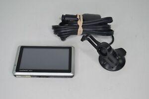 Garmin Nuvi 1350 GPS Unit w/ Car Charger & Windshield Mount TESTED Bundle
