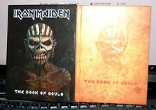 """IRON MAIDEN.  """"THE BOOK OF SOULS""""  2CD & BOOK, PARLOPHONE UK 2015. MINT."""