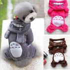 Pet Dog Cat Costume Totoro Puppy Warm Hoodie Coat Clothes Apparel XS S M XL XXL