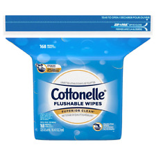 Cottonelle Flushable Fresh Care Wet Wipes Refill (168 ct.) **Free Shipping**