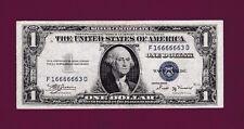 Fr.1611  $1  1935 B  SILVER CERTIFICATE NOTE FANCYY SN F16666663 D US CURRENCY