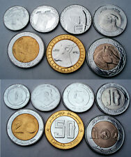 ALGERIA 1-2-5-10-20-50-100 DINARS 1992-1999 Nice Details H2.5
