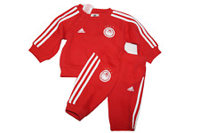 adidas Baby Jogging suit Olympiakos Reds Football RRP £35 Sizes up to 3-4 yrs
