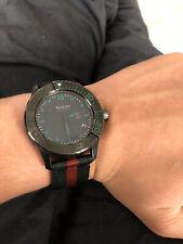 GUCCI G Timeless Sports 126.2 Webbing Belt Quartz Mens Watch