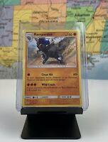 SHIPS SAME DAY Pokemon Card NM/M Rampardos 65/156 Holo Fighting Type 2018 Rare