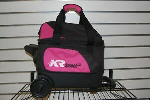 KR Select Single Roller Bowling Bag Black/Pink