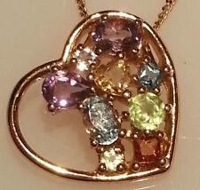 Bigiotteria cuore in oro placcato argento
