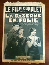 "Film Complet ""La Caserne en Folie"" 5/1935   R.Cordy"