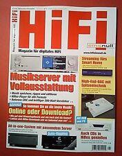 HiFi 05/2017 November/Dezember  Magazin für digitales HiFi Ungelesen Top zustand