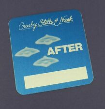 Crosby, Stills and Nash Original Backstage Pass - Daylight Again 1982 Tour