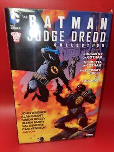 Rare OOP Batman Judge Dredd Collection Judgement On Gotham Vendetta Hardcover HC