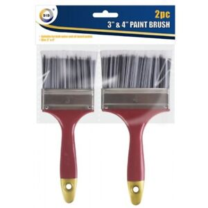 4 3 Inch Paint Brush Brushes Decorating Diy Wall Fence Home Decks House Wood Set