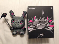 "Shadow Friend Dunny -8"" by Angry Woebots and Kidrobot Angrywoebots"