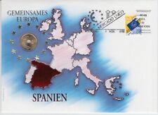 D. Numisbrief  Gemeinsames Europa  Spanien  1992