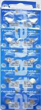 10PCS.RENATA 321 SR616SW  WATCH BATTERIES,SWISS MADE, 0% MERCURY