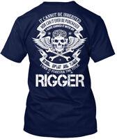 Rigger Not Inherited Hanes Tagless Tee T-Shirt