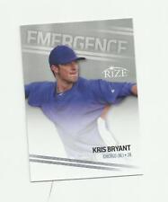 2013 LEAF RIZE EMERGENCE #EM-2 CHICAGO CUBS KRIS BRYANT RC NM-MT