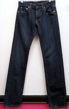 LEVI'S Size 28 Dark Wash CAPITAL E MATCHSTICK SLIM STRAIGHT Denim Jeans