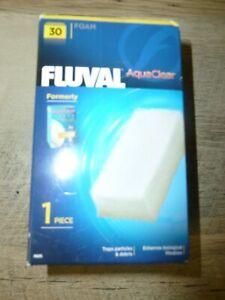 AQUACLEAR 30 FLUVAL FOAM FILTER INSERT SPONGE (1 in pkg)  Free Shipping