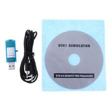 8 en 1 câble de simulateur de vol RC logiciel Phoenix CD USB pour modèle