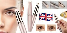 WOMEN'S PAINLESS ELECTRIC EYEBROW HAIR REMOVER BROWS TRIMMER RAZOR SHAVER