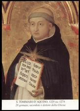 santino-holy card*S.TOMMASO D'AQUINO
