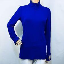 GAPFIT Sport Long sleeve Half-zip Top, Royal blue, size S