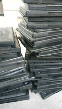 100 DVD Covers Empty Blank USED CD Blu Ray Disc Storage USED Case Jewel