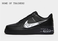 Nike Air Force 1 LV8 Utility Black White Men's Trainers All Sizes