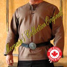 Medieval Celtic Viking Straight Long Sleeves Shirt