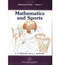 Mathematics and Sports (Mathematical World)-ExLibrary