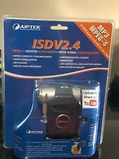 AIPTEK ISDV2.4  Blue Camcorder Camera MP3 Player NEW Factory Sealed