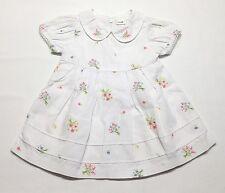 Gymboree Size 3 6 Months WELL MANNERED Vintage Baby Girls Spring White Dress HTF