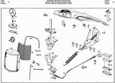Genuine Mercedes Buffer Knob Center 5pcs  W108 W109 W111 W112 0009871840