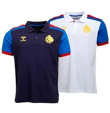 Mens Hummel Sportswear Printed Top Great Britain Rugby Polo Sizes from S to Xxl
