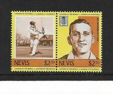 1984 Nevis - Leaders of the World - Cricketers - Pair - Mint and Never