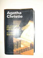 AGATHA CHRISTIE Un Cadavre Dans La Bibliothèque / A L'Hotel Bertram