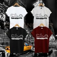 TEAM HERBIVORE T SHIRT EAT FRUIT EARTH ANIMAL LOVER VEGAN VIBES FASHION SWAG DOP