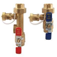 Watts LF TWH -FT-HCN 2-Piece Lead-Free Brass Tankless Water Heater Valve Set