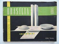 ancien catalogue OSCAR NIEMEYER design BRASILIA 1960 knoll le corbusier perriand