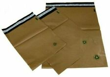 """New listing Poly Bag Mailers Biodegradable 500 #1 (7.5"""" x 10) Brown Eco Friendly Self-Seal"""