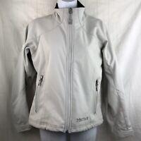Marmot Windstopper Gray Jacket Women's S Fleece Lined Full Zip