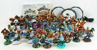 Nintendo Wii Skylander Lot 49 Characters 2 Games Portals Giants Spyro Swap Force