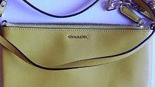 NWT Auth Coach Saffiano Leather Kylie Crossbody Bag 50839