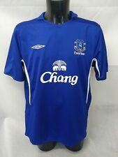 Everton Fc Chang Umbro Football Shirt Size Xl Home