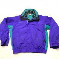 Vtg Columbia Bugaboo Men's Colorblock 2 In 1 Zip out Fleece Ski Coat Jacket Sz M