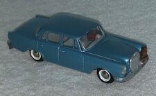 Modellauto Tekno No. 726 Mercedes 220 SE hellblau Länge ca. 11 cm